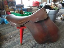 Vintage Deluxe Saddlery horse saddle made in England for Baltimore MD
