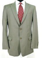 Tommy Hilfiger Blazer Sz 42L Tan Taupe All Season Wool Sport Coat Jacket
