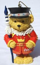 Harrods Bear Ornament Guard Harrods London Christmas #D-14