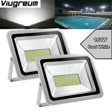 2X 150W Led Floodlight Landscape Outdoor Security Lamp Cool White 110V Viugreum