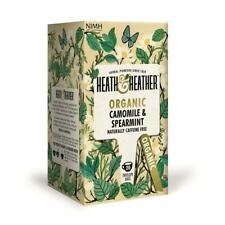 💚 Heath & Heather Bio Camomille & Menthe Infusion 20 bags