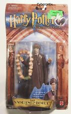 Harry Potter Action Figure LORD VOLDEMORT 2002 NEW With GARLIC NECKLACE Mattel