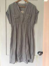 WOOLRICH WOMEN'S GREY COTTON DRESS SIZE XL