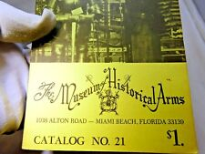 The Museum of Historical Arms  catalog No. 21 1970's