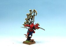 25mm Warhammer Fantasy WGS painted Skaven Warlord Gueek Headteacher SK031