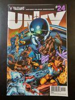 ⭐️ UNITY #24a (2015 VALIANT Comics) VF/NM Book