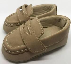 Baby Deer Tan Slip-On Loafer Baby Size 0 1 2 3