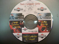 Briggs & Stratton Single and Twin Cylinder Repair Service Manual CD