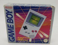 Boxed Grey Nintendo Gameboy Original DMG-01