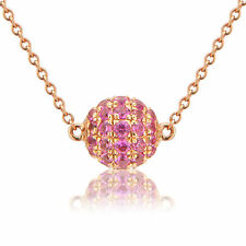 Sapphire Rose Gold 18 Carat Fine Jewellery