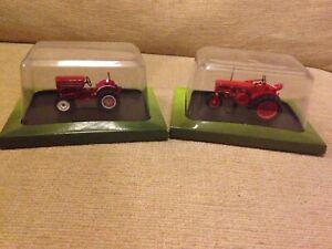 O GAUGE FARM TRACTORS x 2 BNIP