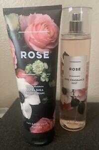 New Bath & Body Works Rose Full Size 2pc Gift Set - Free Shipping!