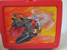 Hot Wheels Corvette Lunch Box with Thermos 1999 Mattel Inc New