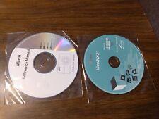 Nikon Coolpix S6300 Windows/Macintosh Reference Manual CD Rom and ViewNX2 CDs