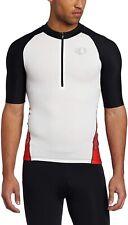 Pearl Izumi Men's ELITE In-R-Cool Triathlon Tri Jersey - White/Tomato (XX-Large)