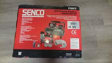 Senco Kompressor PC1010 Druckluft Mini Kompressor Kompakt Set mit Klammergerät