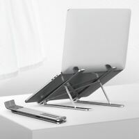 Foldable Laptop Stand Adjustable Notebook Portable Table Tray Lazy Computer Desk