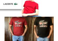 🐊🐊NEW Lacoste Men's Croc Crewneck Graphic T-Shirt,Original Croc,S,M,L 🐊