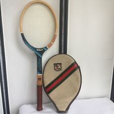 Chris Evert Champion Wilson Vintage 70s Wooden Tennis Racket 4 3/8 ABC News Cool