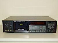 Yamaha K-720 High-End 2-Head Kassettendeck / Tape Deck, 2J. Garantie