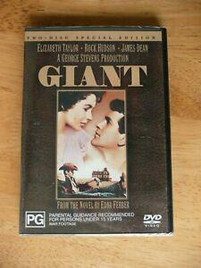 GIANT DVD JAMES DEAN NEW/SEALED REGION 4 PAL AUS