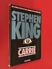 Stephen KING - CARRIE Bompiani Grandi Tascabili (1993) Libro Horror B.Gasperini