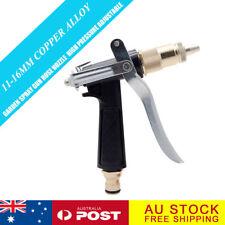 Garden Watering Hose Spray Gun Pistol Grip Trigger Brass Nozzle Sprinkler JJ