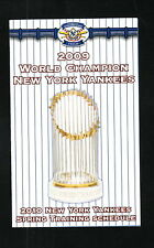 2010 New York Yankees Spring Training Schedule