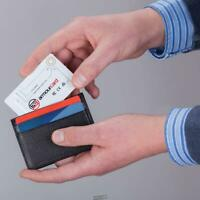 Identity Theft Thwarting Force Field wallet card RFID NFC protection ARMOURCARD