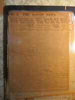Great German Fleet at Scapa Flow sunk by Teuton Crews 1919 Newspaper WWI