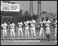 MLB 1969 World Series Baltimore Orioles Starting Line Up 8 X 10 Photo Picture