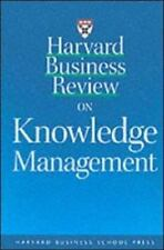 Harvard Business Review on Knowledge Management, , Good Book