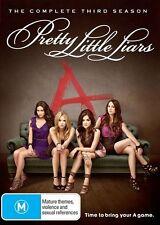 Pretty Little Liars : Season 3 (DVD, 2013, 6-Disc Set) VGC R4 (Box D75)