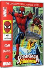 Spider-Man and his Amazing Friends 1983 Animated Cartoon TV Series DVD Set