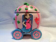 Vintage Cinderella's Coach Musical Jewelry Box