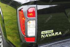 LUCE POSTERIORE Protezioni per Nissan Navara NP300 NERO bordo STOCK UK
