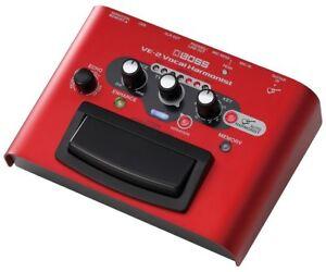 BOSS VE-2 VOCAL harmonist PEDAL EFFECT PROFESSIONAL per voce  Roland