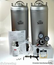 NEW Twin Keg Set Beer Tap Mangrove Jacks draught tap homebrew kegging