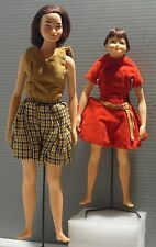 Vintage Doll Remco Daughters Blue Eyed Judy & Little Sister Libby Littlechap Lot