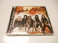 "Flash Addict ""Live fast..."" Sleazy cd 2008  Suncity Records"