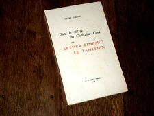 dans le sillage de Cook ou Arthur Rimbaud le Tahitien 1968 Pierre Caddau