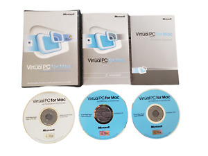 Microsoft Virtual PC for Mac Version 7 with Windows XP Professional Software