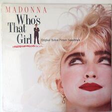 Madonna  Who's That Girl 1987 Soundtrack Vinyl Record LP Sealed Orig