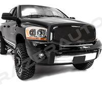 Black Packaged Mesh Grille+Shell for 06-08 Dodge Ram 1500+06-09 Ram 2500+3500