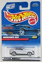 HOT WHEELS MERCEDES SLK DIE-CAST VEHICLE COLLECTOR #1095 MATTEL1998