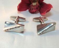 Stylistische Manschettenknöpfe 835 Silber old silver Cufflinks / ce 326