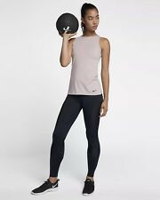 WOMENS NIKE POWER TIGHT FIT YOGA PILATES BARRE GYM TRAINING TIGHTS - MED - $100