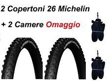 2 Copertoni MTB 26 Per Bici Da Bicicletta Michelin Country Grip 26x2.10 Rigido