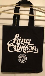 King Crimson Music Is Our Friend '21 concert tote bag - NEVER USED