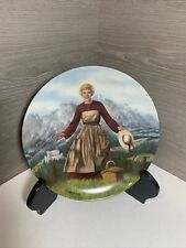 """1986 Knowles Collector Plate """"The Sound of Music� Sound of Music Crnkovich"""